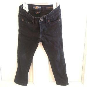 Girls 2T Lucky Brand Black Jeans